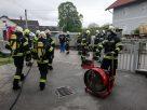 Brand im Keller eines Hauses in Ohlsdorf sorgt für Einsatz zweier Feuerwehren